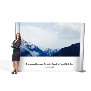 System Straight Graphic Panel Kit B 2000x3000